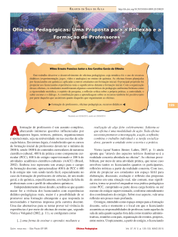 PDF: Relatos de Sala de Aula