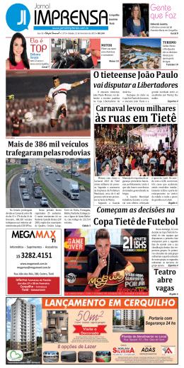 às ruas em Tietê - jornalimprensa.com.br