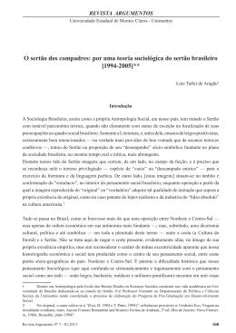 artigo completo - Argumentos - Universidade Estadual de Montes