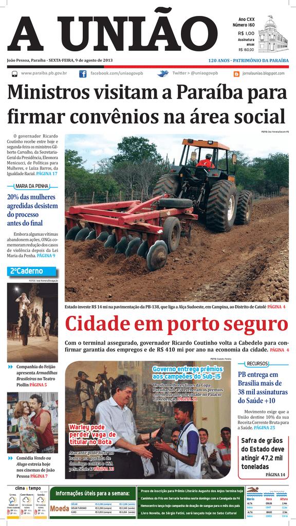 971dc6d68 a união - Governo da Paraíba