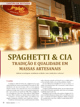SPAGHETTI & CIA