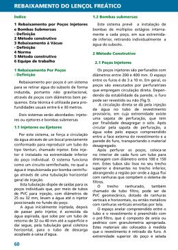 REBAIXAMENTO DO LENÇOL FREÁTICO