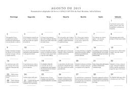 AGOSTO DE 2015 - Irdin Editora