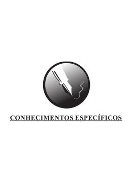 CONHECIMENTOS ESPECÍFICOS