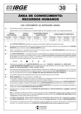 PROVA 30 - RECURSOS HUMANOS.pmd