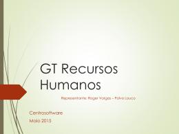 Apresentação GT Recursos Humanos