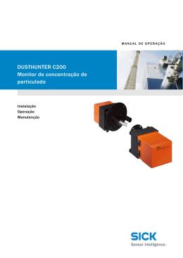 DUSTHUNTER C200 Monitor de concentracao de particulado