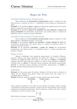 Regra de Três v.1.2