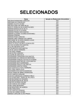 SELECIONADOS