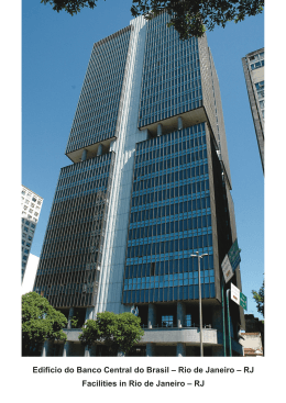 Edifício do Banco Central do Brasil – Rio de Janeiro