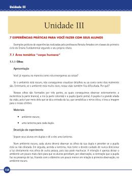 Unidade III - Ambiente Virtual de Aprendizado