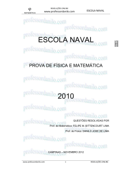 ESCOLA NAVAL 2010