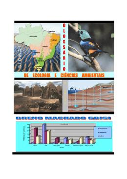 GLOSSÁRIO DE ECOLOGIA E CIÊNCIAS AMBIENTAIS (Breno