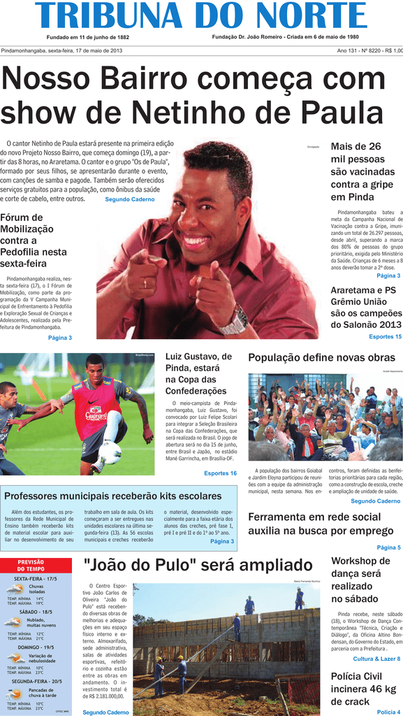 8220 - Jornal Tribuna do Norte 7b992e720a