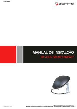 Manual de instalação compact