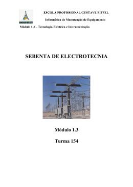 Tecnologia Eléctrica e Instrumentação