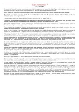 REVISTA ÂMBITO JURÍDICO ® Livro sem papel Os reflexos da