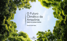 O Futuro Climático da Amazônia