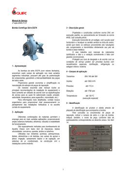 1 Manual de Serviço nº eqta-2008 21