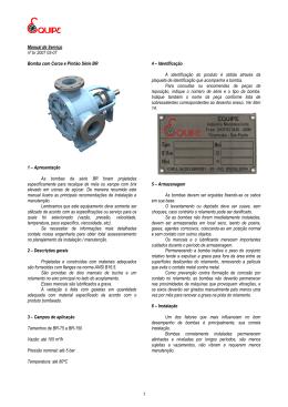 1 Manual de Serviço nº br 2007 03