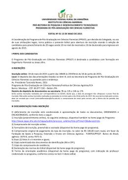 universidade federal rural da amazônia instituto de