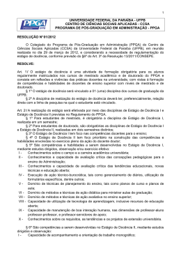 documento - CCSA - Universidade Federal da Paraíba