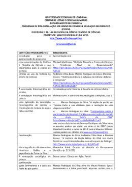 2 fil 141: filosofia da ciência e ensino de ciências