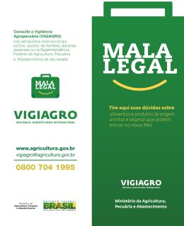 Mala Legal - Ministério da Agricultura