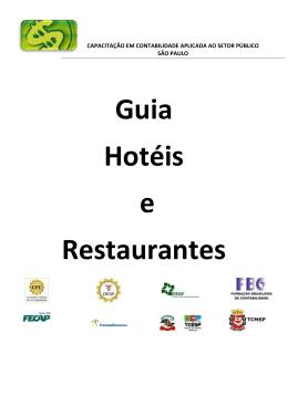 Guia Hotéis e Restaurantes