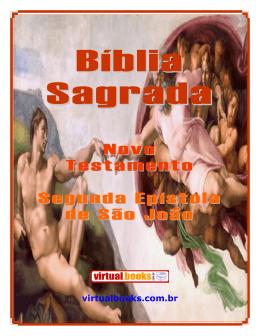 Novo Testamento Segunda Epístola de São João