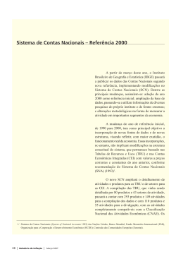Relatório de Inflação – Março 2007