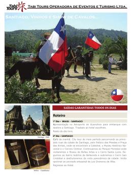 Santiago, Vinhos e Show de Cavalos