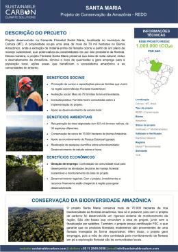 projeto Florestal Santa Maria
