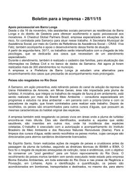 28.11.15 – Apoio psicossocial em Barra Longa / Peixes