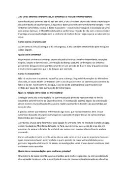 Zika vírus: entenda a transmissão, os sintomas e a - CRF-SP