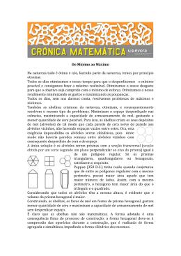 """Crónica Matemática """"Do Mínimo ao Máximo"""""""