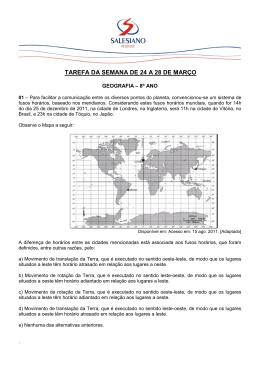 TAREFA DA SEMANA DE 24 A 28 DE MARÇO