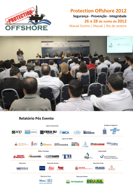 Protection Offshore 2012 - Reed Exhibitions Alcantara Machado
