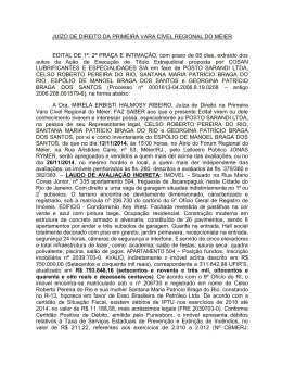 COMARCA DA CAPITAL
