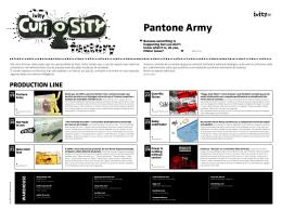 Pantone Army - Ivity Brand Corp