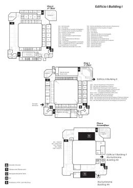 Edifício I Building I - IEPM - iscte-iul