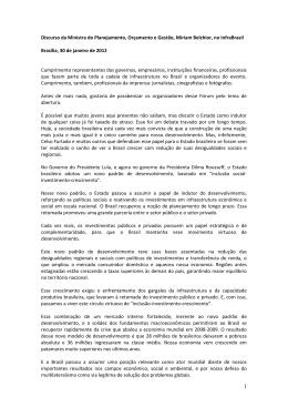 InfraBrasil Expo & Summit - Ministério do Planejamento, Orçamento
