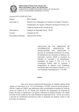Processo PGT/CCR/nº 9532/2014 - Ministério Público do Trabalho