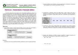 exercicio transcrição tradução