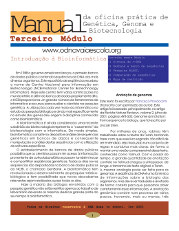 Manual de Bioinformática