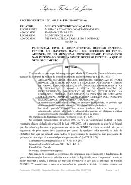 STJ - Resp nº 1.469.318