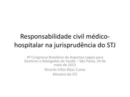 Responsabilidade civil médico-hospitalar na jurisprudência