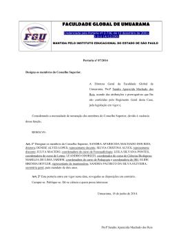 realizar - Faculdade Global de Umuarama FGU