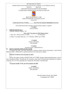 Gelcino dos Santos Araújo, Sd PM 97.628, da 5ª CIPM: Incapaz