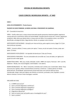 OFICINA DE NEUROLOGIA INFANTIL CASOS CLÍNICOS